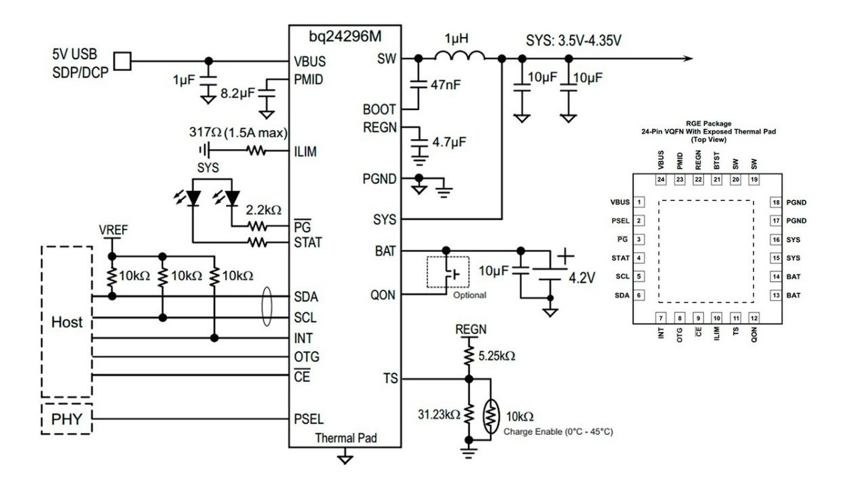 Ic Power Y Carga Bq24296 M Motog4 Play Xt1601 Kindle Fire