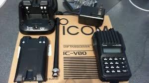 ic v80 icom  lithium .   a pronta entrega