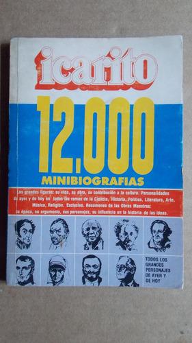 icarito, minibiografias tomo 7, literatura