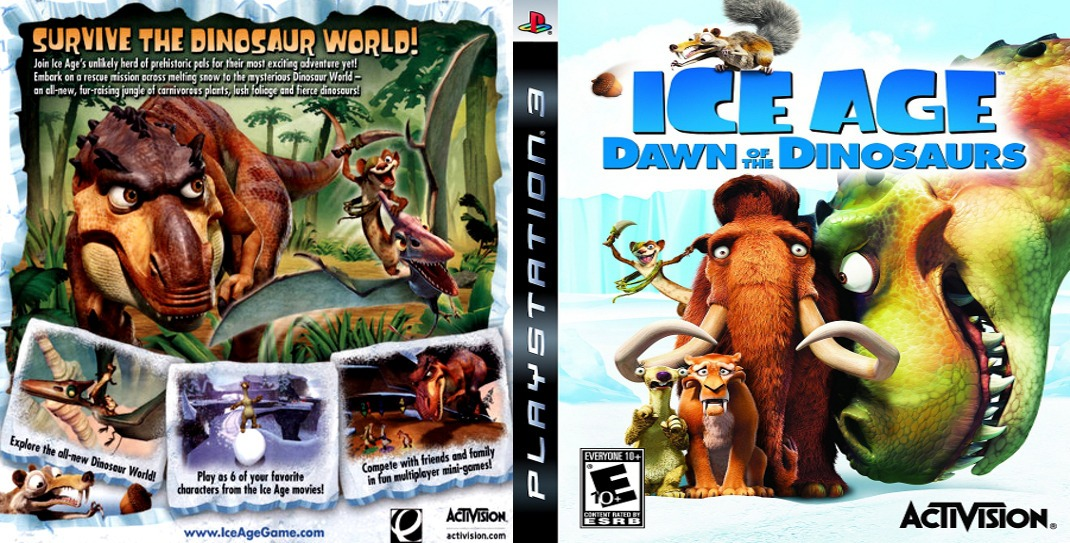 Ice Age Dawn Of The Dinosaurs Ps3 Fisico Original - $ 770,00