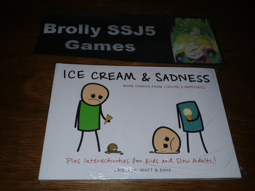 ice cream & sadness - cyanide & happiness comics