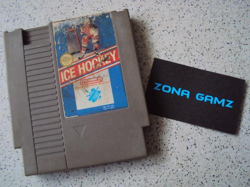 ice hockey nintendo nes zonagamz