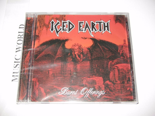 iced-earth- burnt-offerings cd  importado disponible