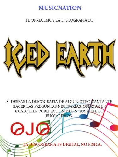 iced earth (discografia)