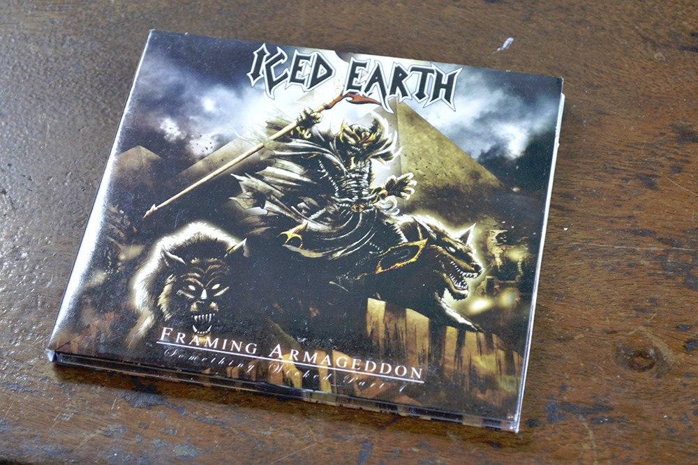 Iced Earth Framing Armageddon Cd Original - Bs. 2.400.000,00 en ...