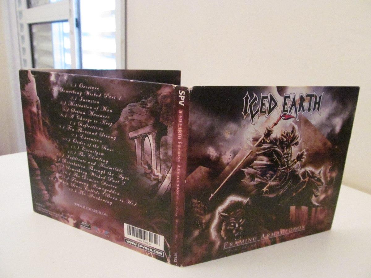 Iced Earth Framing Armageddon Impor Usa P 1 Estado De Novo - R$ 39 ...