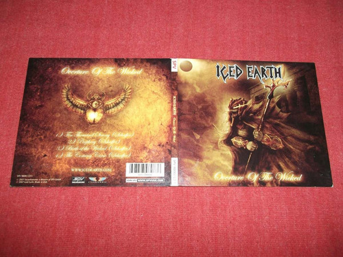 iced earth - overture of the wicked cd ep imp ed 2007 mdisk