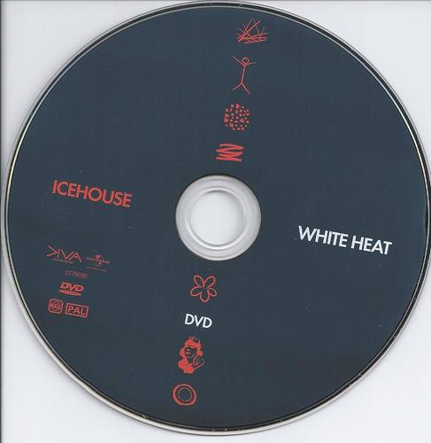 icehouse white heat: 30 hits 2cd & dvd pal region importado