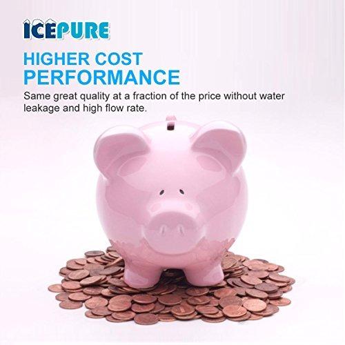 icepure rwf0600a  filtro de agua para refrigerador compatibl