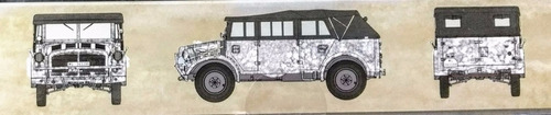 icm 1/35 35506 horch 108 typ 40 soft top german personnel