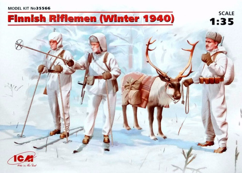 icm 1/35 35566 finish riflemen winter 1940