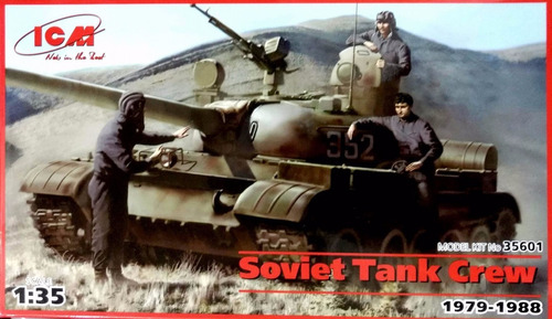 icm 1/35 35601 soviet tank crew (1979-1988)
