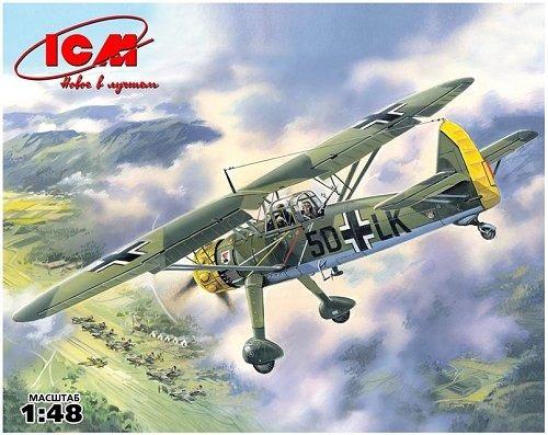 icm-avião hs 126a-1 - wwii german reconnaissance plane