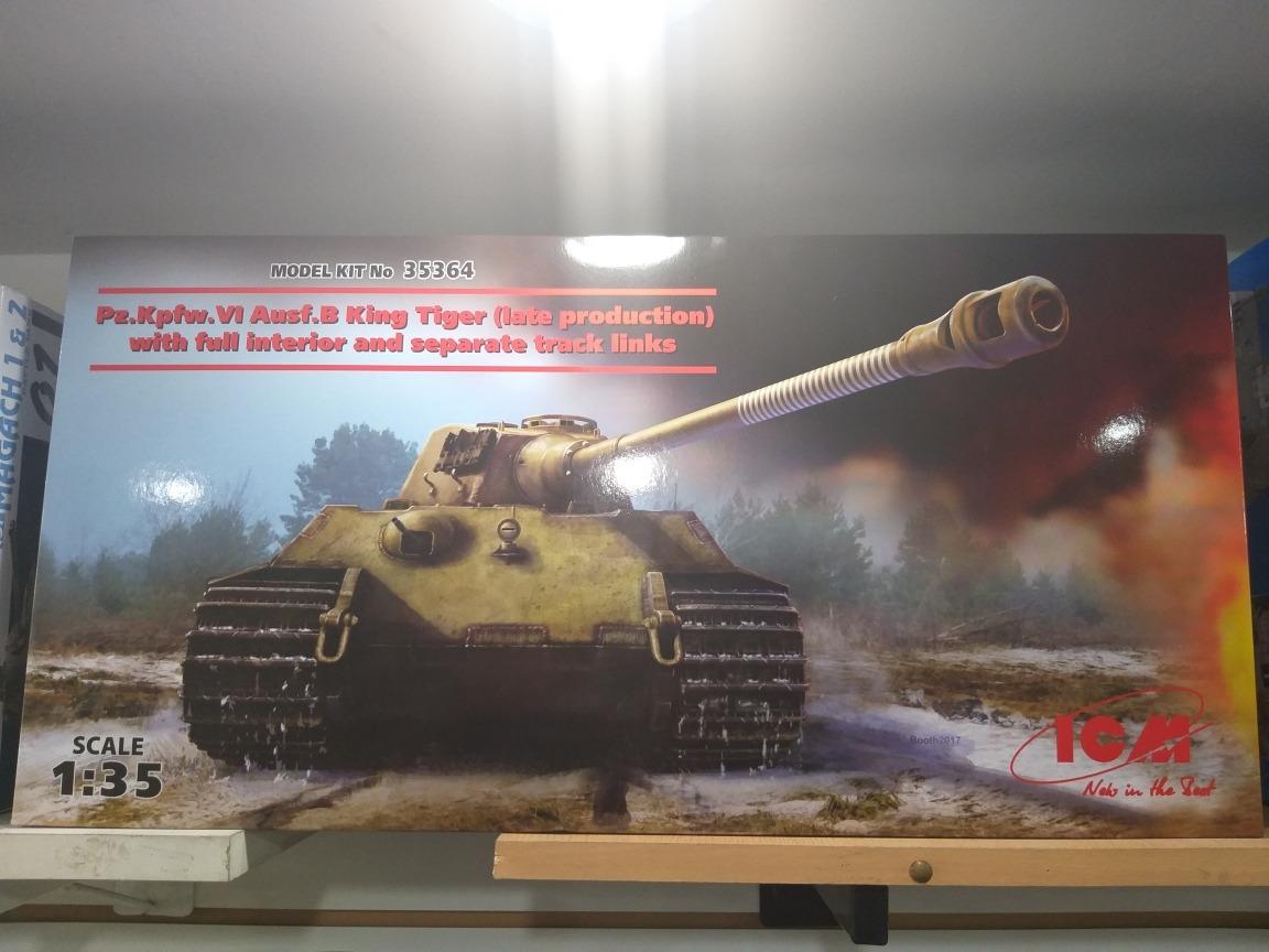 Icm Pzkpfw King Tiger 135 35364 Rdelhobby Mza
