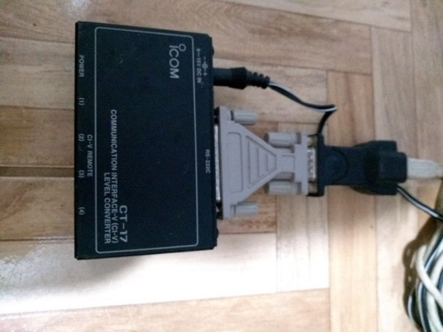 icom ct-17 original e uma cópia