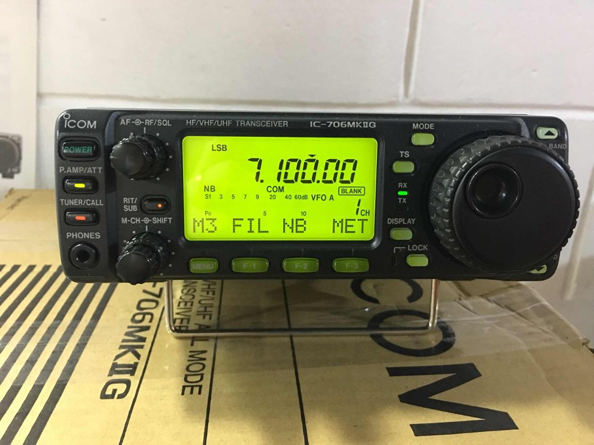 Icom Ic-706mk2g Dsp Radioamador Impecável Py2xm