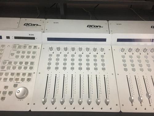 icon qcon ex 8 faders motorizados