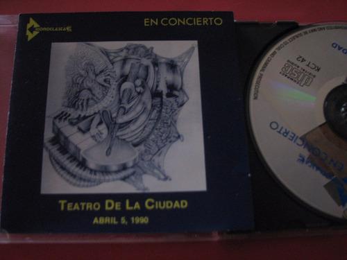 iconoclasta cd en concierto mx