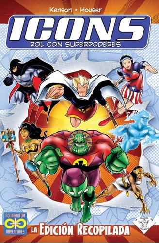 icons: rol con superpoderes - invictvs