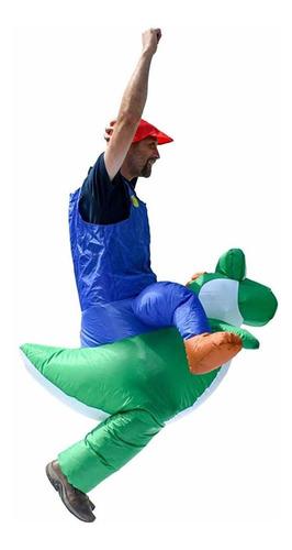 icp disfraz de fiesta inflable de halloween  mario ridi...