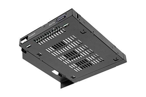 icy dock 2.5-inch sata/sas hdd/ssd resistente full metal rac
