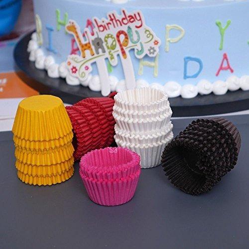 icyang 5000 piezas de papel de chocolate desechable mini mag