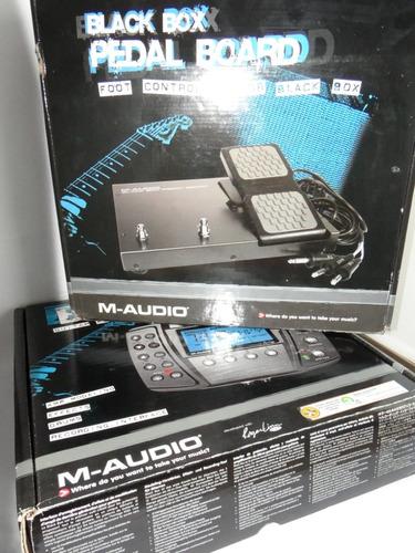 id 245 m-audio black box reloaded + black box pedal board