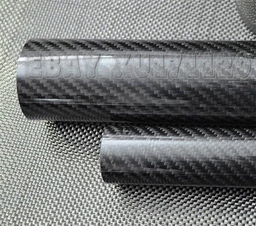 id 4 x 20mm x od 22 mm x 500 mm 3k fibra de carbono tubo bri