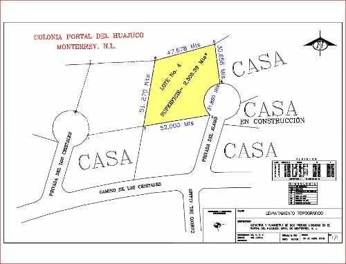 id:102716, magnífico terreno residencial en uno de los fraccionamientos mas exclusivos de monterrey en carretera nacional, privilegio residencial al pie de la sierra.ubicado en calle cerrada, ideal