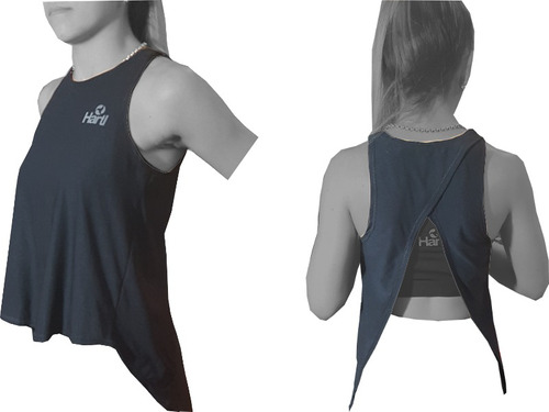 id216 musculosa mujer hartl casual espalda abierta