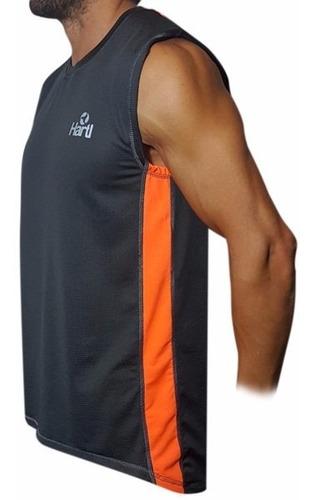 id297 remera sin mangas musculosa deportiva amplia hartl
