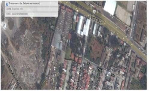 id:36739, se vende como terreno cuenta con todos los servicios urbanos, luz trifasica, agua, drenaje.  el terreno tiene frente a la carretera y a dos calles interiores. totalmente bardeado frente al