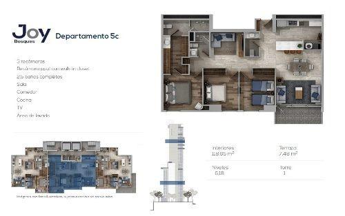 id:77688, nuestro proyecto inmobiliario está diseñado para deleitarcada uno de tus instantes.disfrutarás de amenidades extra ordinarias.· 1 torre de 21 niveles· sólo 80 departamentos de 1, 2 y
