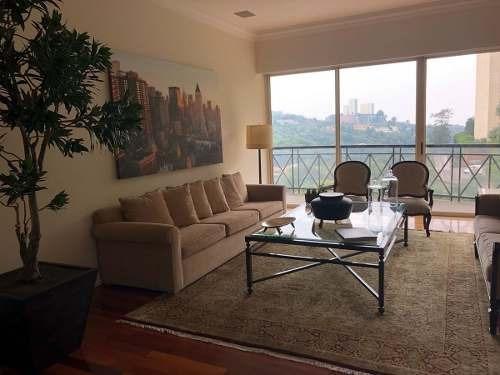 id:79956, vive en hermoso departamento en el séptimo piso en uno de los condominios más exclusivos de santa fe.en aproximadamente 550 m2 disfruta de espectacular vista en un espacio lleno de luz, c