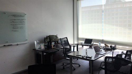 id:80280, amplísimas oficinas ubicadas en el 6to piso del edificio del hotel presidente intercontinental en santa fe. tiene una superficie de 286 m2. amueblada con materiales de excelente calidad. fá
