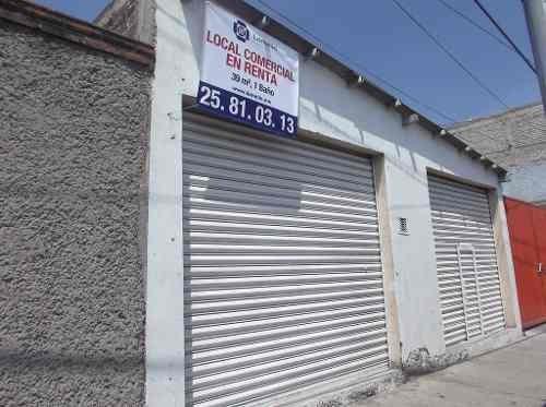 id:8572, se renta local comercial en la colonia vicente villada, en la calle de lago  xochimilco #294, interior local, cuenta con luz monofásica, está entre las calles de  pirules y laguna de mayrán