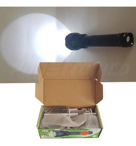 id9004 - lanterna de led recarregável 3w id-9004