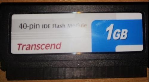 ide flash module dom 40 pinos 1gb transcend ts1gdom40v-s