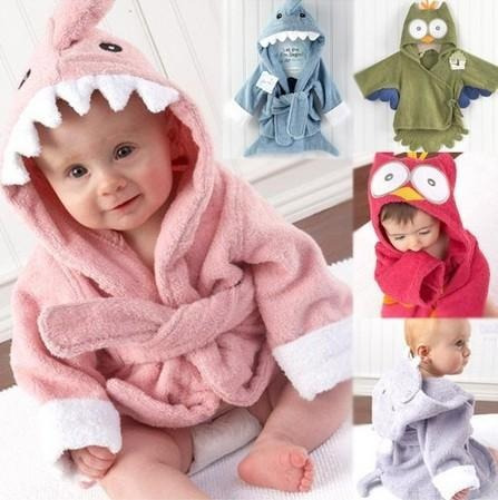 ideal dia del niñ@ batas en polar bebe