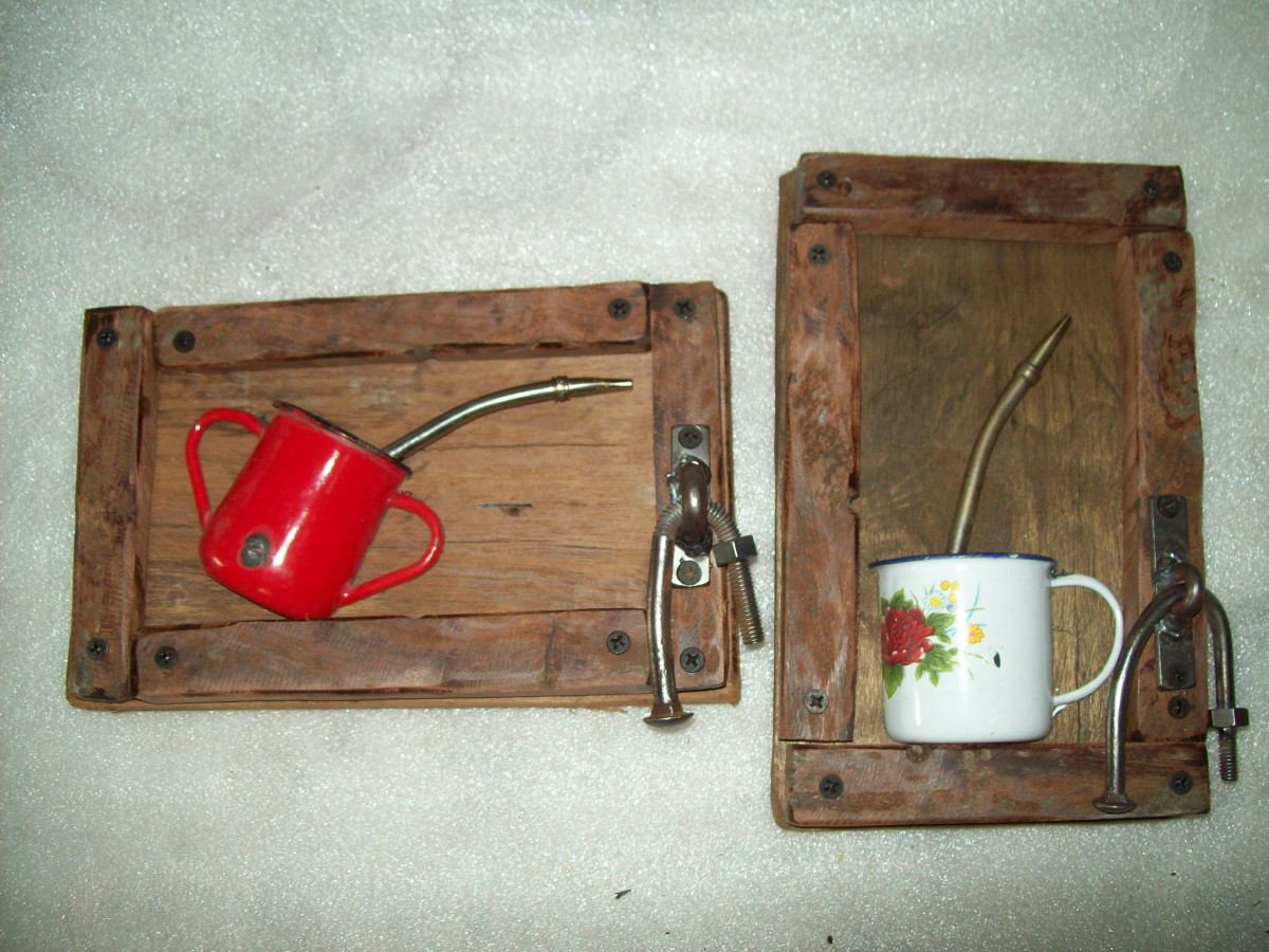 ideal para decorar tu cocina o comedor cuadros reciclados