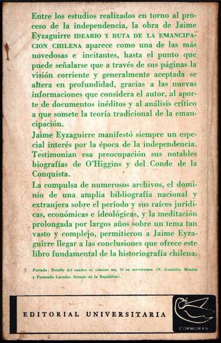 ideario y ruta de la emancipación chilena