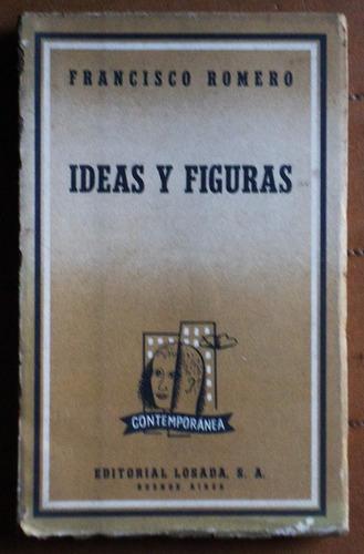 ideas y figuras / francisco romero