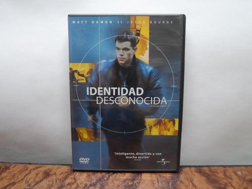 identidad desconocida dvd original