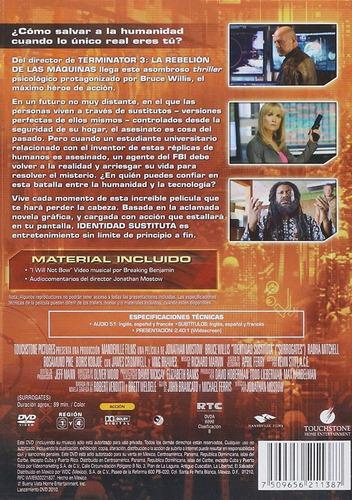 identidad sustituta bruce willis pelicula dvd