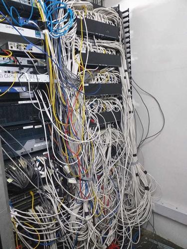 identificación, rotulacion ,punto de red cat6, telefonía
