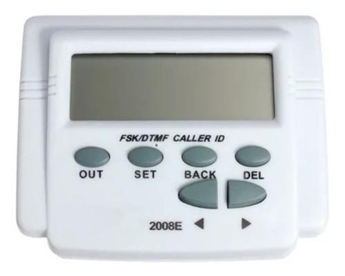 identificador de llamadas digital 100 registros hora fecha maxima calidad pantalla de facil lectura lcd