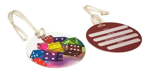 identificador maleta con figuras impresas 2 piezas ts94nltes