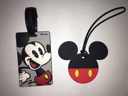 identificadores valijas mickey importados disney