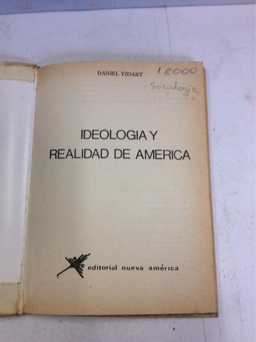 ideología de américa, daniel vidart