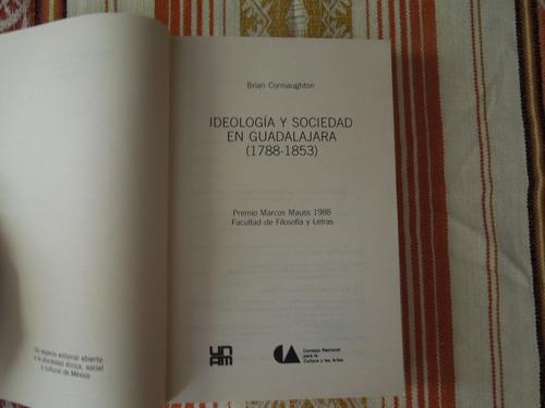 ideología y sociedad en guadalajara (1788-1853) connaughton